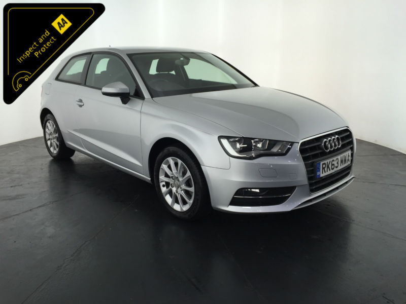 2013 63 AUDI A3 SE TDI 3 DOOR HATCHBACK 1 OWNER FINANCE PX WELCOME
