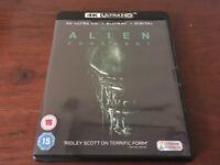 alien covenant 4k UHD blu ray