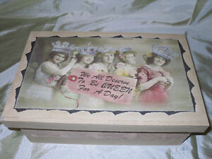 Wooden Vintage looking Boxes within a Box Windsor Region Ontario image 1