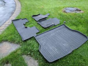 Acura RDX - protège tapis et coffre arrière