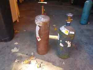 Oxy-acetylene torch set
