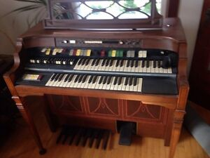 Antique Organ (easily repaired) and Matching Bench