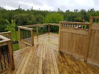 Deck King, your local deck and patio specialist!!