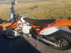 2013 Ktm Exc 510 only 40 hours 2500km