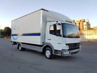 2006 MERCEDES ATEGO 818 4250cc 180BHP 6 SPEED MANUAL 20FT BOX TRUCK IMMACULATE