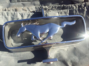 1965 Mustang Grill Coral Horse Emblem
