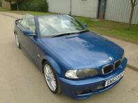 BMW 330 3.0 PETROL AUTOMATIC CI SPORT CONVERTIBLE FULL LEATHER