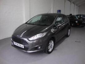 Ford Fiesta 1.0T ( 100ps ) EcoBoost ( s/s ) 2016MY Zetec 5-DR, £0 Road Tax, FSH
