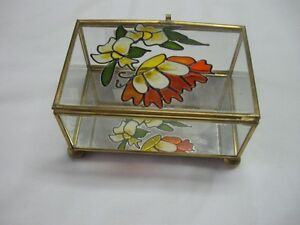 Glass Trinket Case