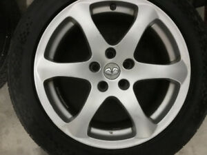 Factory Infiniti G35 Coupe Rims & Tires