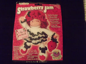 Strawberry Jam Doll Head and Hands