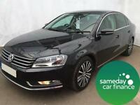 £142.48 PER MONTH BLACK 2011 VW PASSAT 2.0 BMT SPORT 4 DOOR DIESEL MANUAL