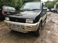 Nissan Terrano II 2.4 Outlander Ltd Edn