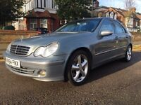 MERCEDES C 220 DIESEL AUTOMATIC WITH ONLY 78K MILLAGE FSH