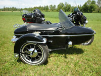 Harley with Sidecar