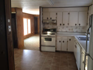 Mobile home for rent near Lacombe