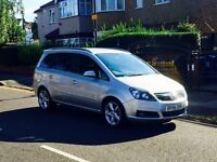Vauxhall Zafira 1.9 SRI Diesel, 7 Seater, Long MOT, Full Service History, Low Mileage, Fully Loaded