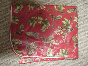 Table Cloth 67 1/2 inches by 50 inches