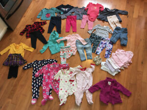 Girls 6-9 and 6-12 long sleeve lot