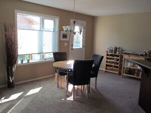 $25 - kitchen table and chairs - avail. on April 29
