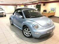 Volkswagen Beetle 1.6 CABRIOLET (blue) 2003