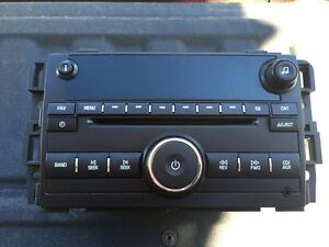 Cd deck with sat capabilities 2007 and up gm/Chev pickup