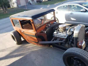 1930 Ford Tudor rat rod Hot rod channeled air bags