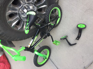 FREE bike with training wheels.
