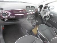 2015 Fiat 500 1.2 Lounge 3dr 3 door Hatchback