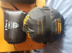 Softie 9 Hawk sleeping bag + fleece lined-will post-