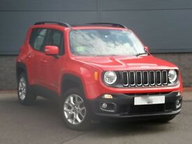 JEEP RENEGADE 2.OL WITH FACTORY FITTED SUNROOF