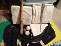 BASEBALL EQUIPMENT AND BAG