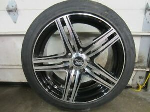 215/45/17 Fusion Tires on Stanford SSW Aluminum Alloy Rims