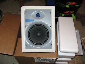 Brand new in box In-wall speakers
