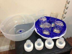 Brand New Born Free Microwave Sterilizer & 4 New bottles $30 Kitchener / Waterloo Kitchener Area image 4