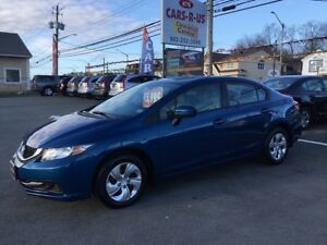 2015 Honda Civic LX 4dr   Free winter tires on all cars and SUV'