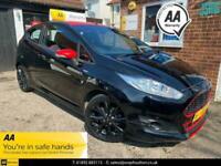 2017 Ford Fiesta ST-LINE BLACK EDITION Hatchback Petrol Manual