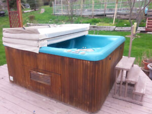 7 person Beachcomer Hot Tub with cover - $500.00
