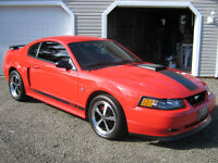 2003 Ford Mustang Mach 1 Coupe (2 door) 5 Speed Manual