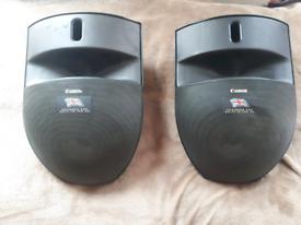 Cannon speakers