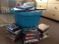 Collection of 130+ dvds some new sealed