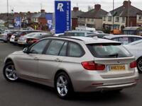 2013 63 BMW 3 SERIES 320D XDRIVE SE TOURING 5DR AUTO * SAT NAV LEATHER * DIESE