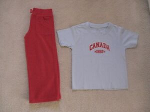 Girl's Size 4T(Toddler) T-Shirt, Pants And Sweater
