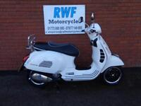 Piaggio Vespa GTS IE, SUPER, ABS, ASR. 2016, 66, MINT COND, ONLY 191 MILES