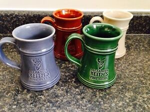 4 Alexander Keith's Steins  $20 for all 4