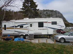 Fifth Wheel, 32 foot Cruiser,  2008 , EXCELLENT CONDITION!