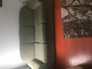 Sofas and 4 chair table for sale