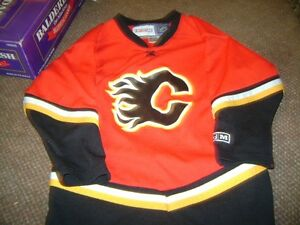 CCM LICENSED PRODUCT CALGARY FLAMES JERSEY