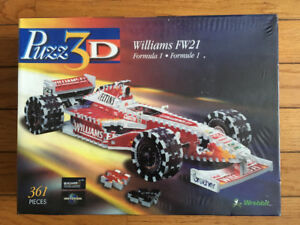 PUZZ 3D WILLIAMS FW21 FORMULA 1 3D PUZZLE 361 PIECE