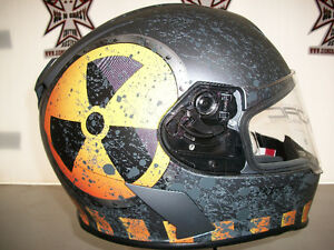 TORC Full Face Helmet - Mako Nuke Design.